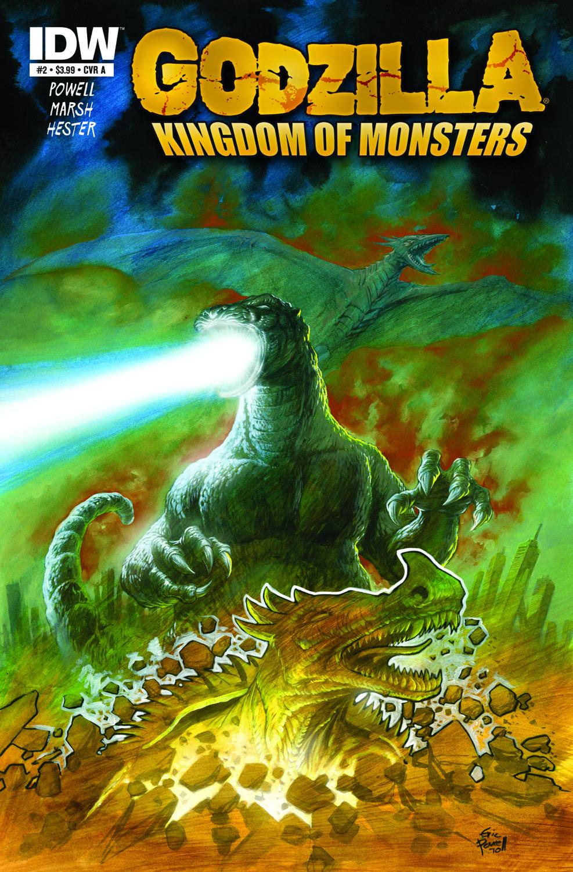 Godzilla Kingdom of Monsters #2