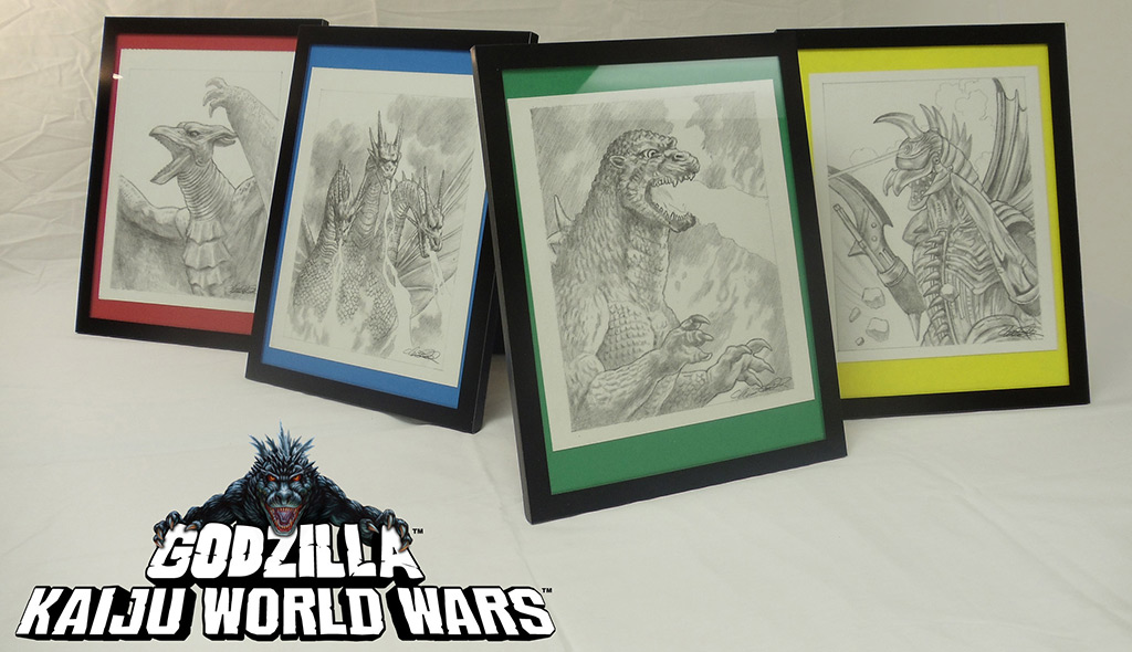 Godzilla: Kaiju World Wars Box Art Contest - Art