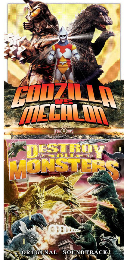 Godzilla vs. Megalon from Media Blasters