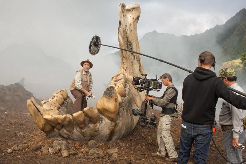 Kong Skull Island Set Photo