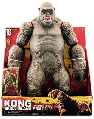 Kong 18 inch Mega-Figure with Soldier