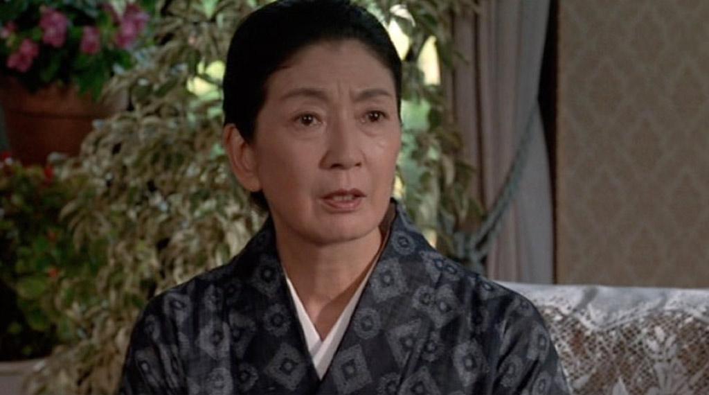 Momoko Koichi in Godzilla vs. Destoroyah, dir. Takao Okawara