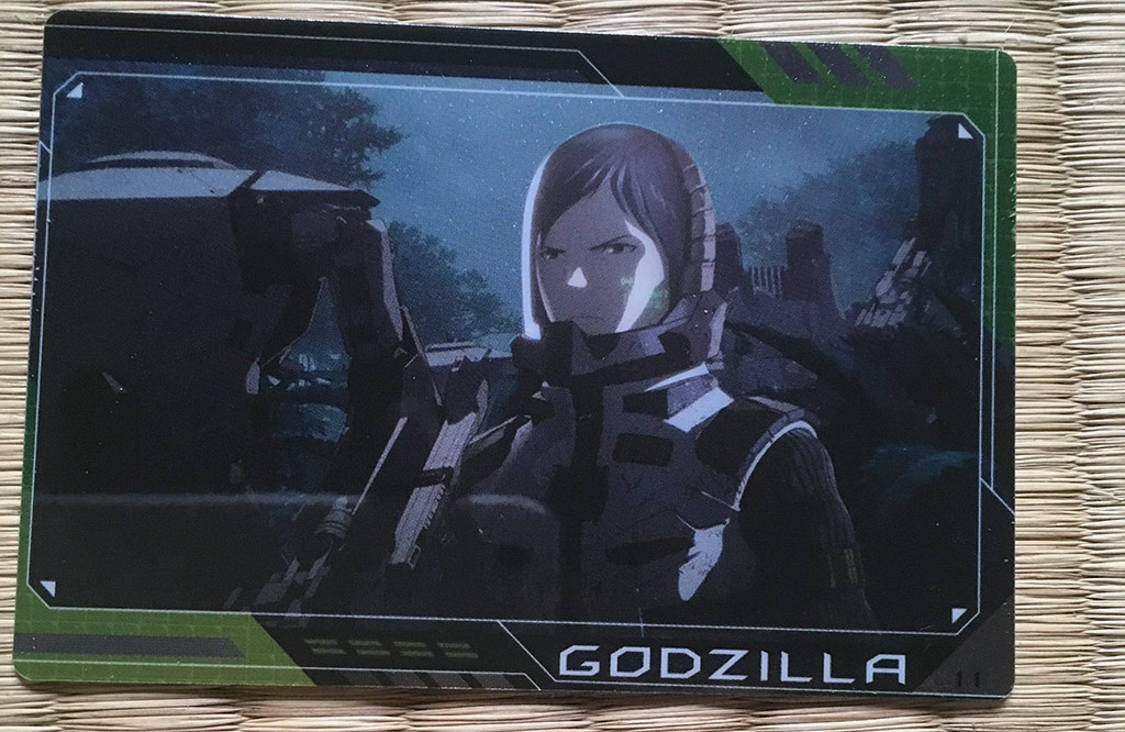 Godzilla: Planet of the Monsters Wafers Review - Card