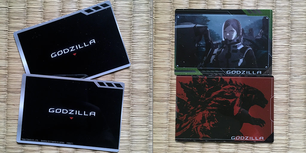 Godzilla: Planet of the Monsters Wafers Review - Cards