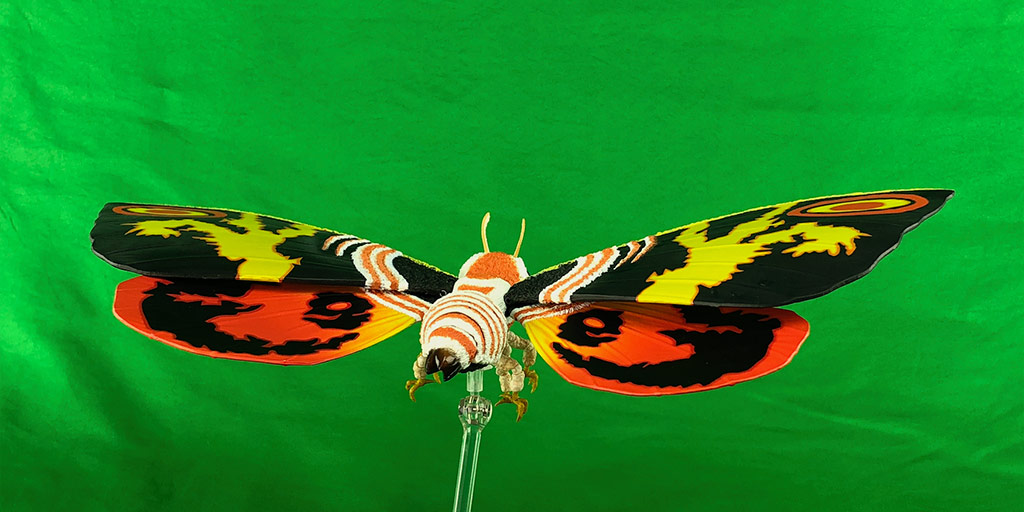 Monster Sightings: Mothra Video - Background
