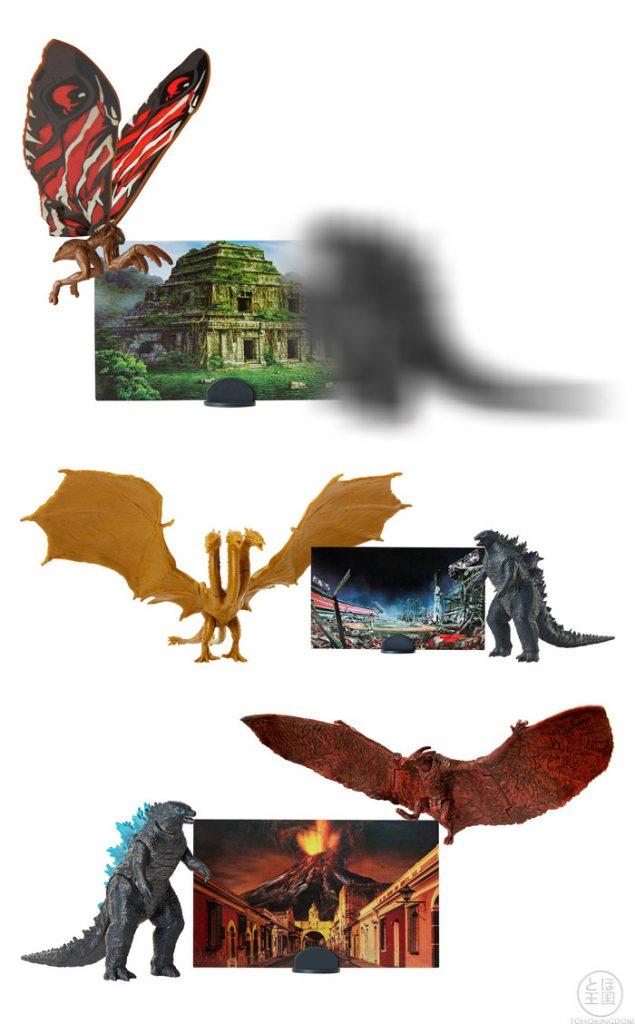 Godzilla figure packs (spoiler)