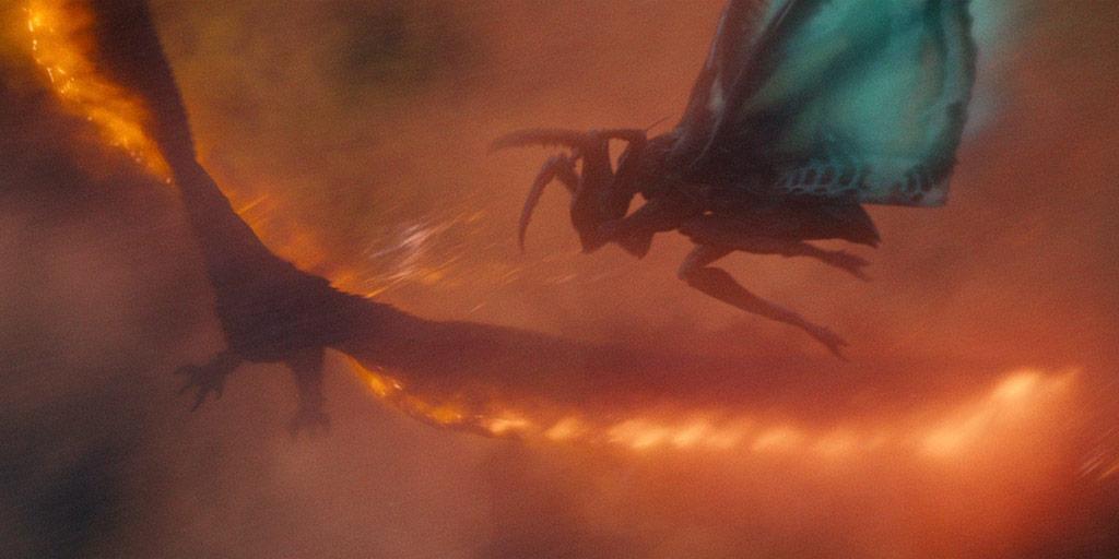 Mothra vs. Rodan