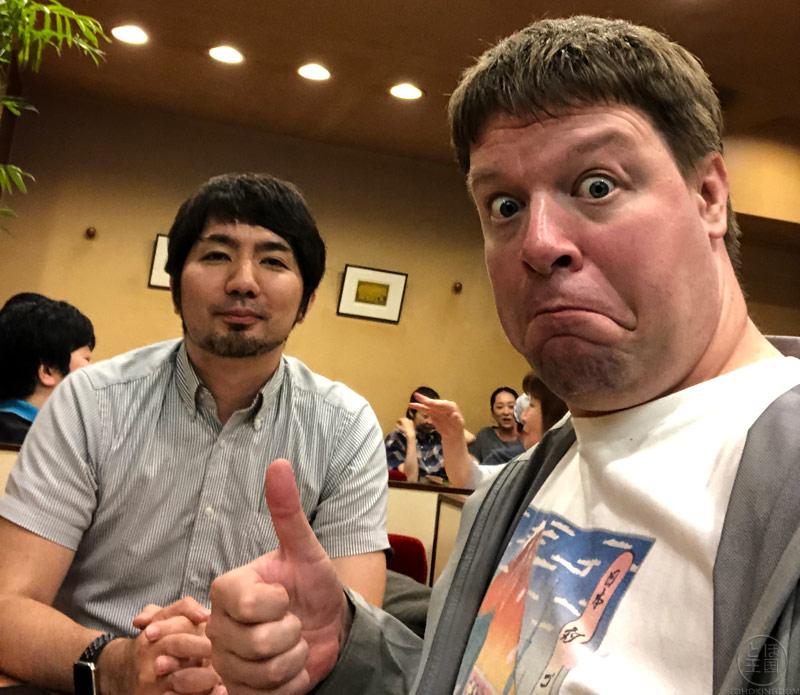 Daisuke Sato Interview Photo