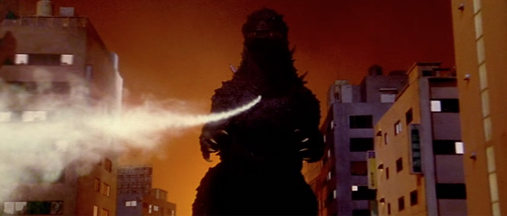 Great shot of Godzilla in Godzilla vs. Megaguirus