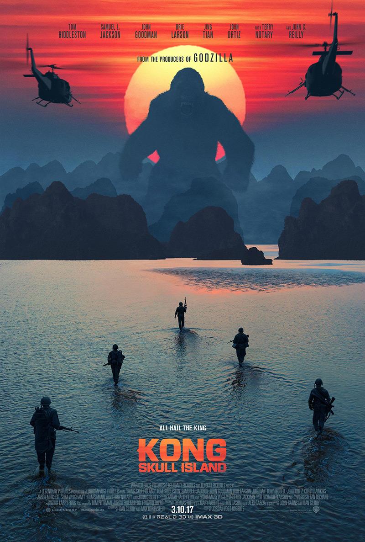 Kong Skull Island Poster
