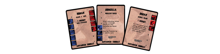 Godzilla: Kaiju World Wars Cards