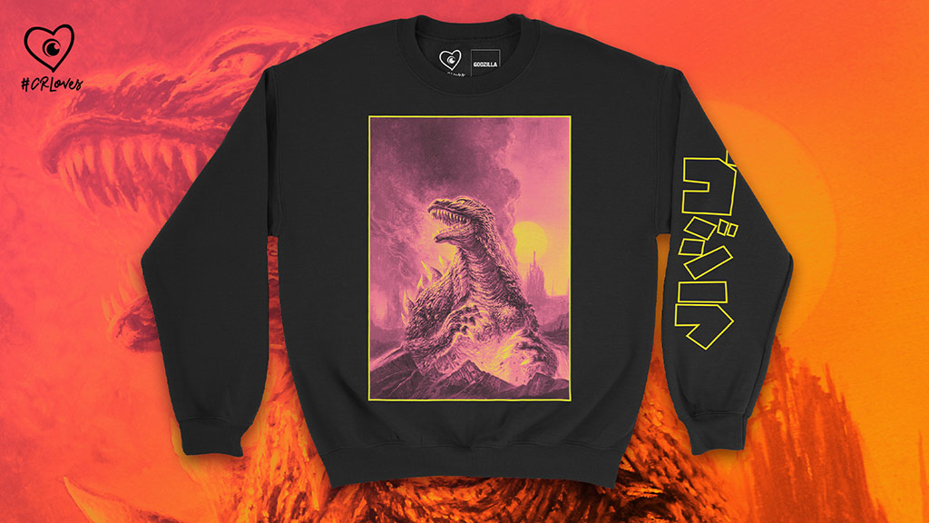 GodzillaCataclysm Destruction Crew Sweatshirt