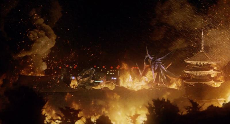 Gamera 3 final battle