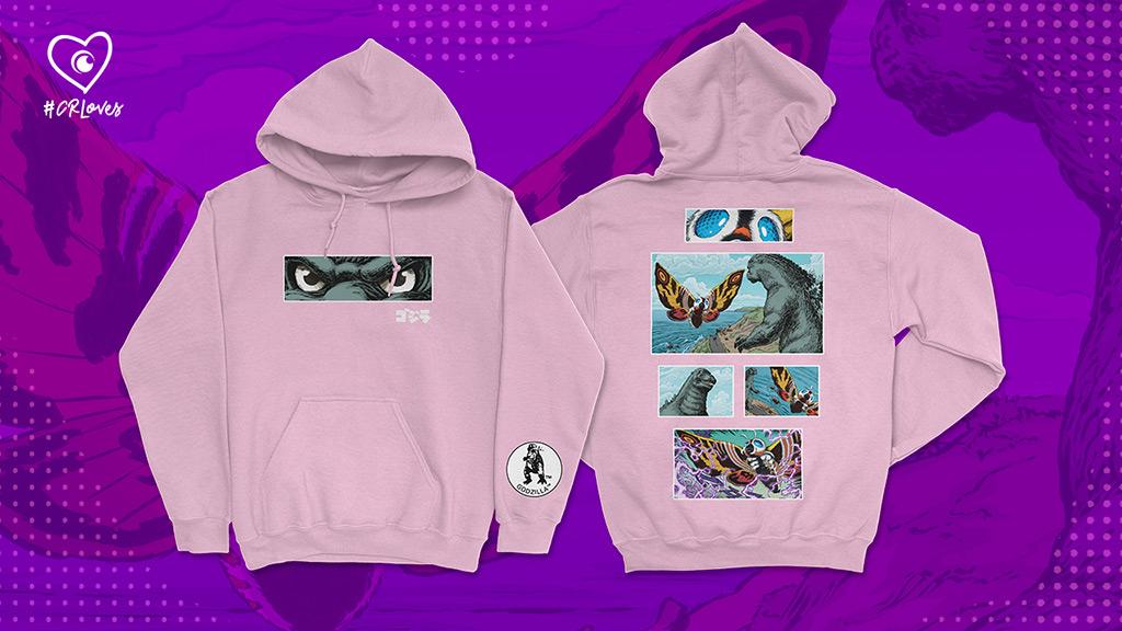 Godzilla Comic Storyboard Pullover