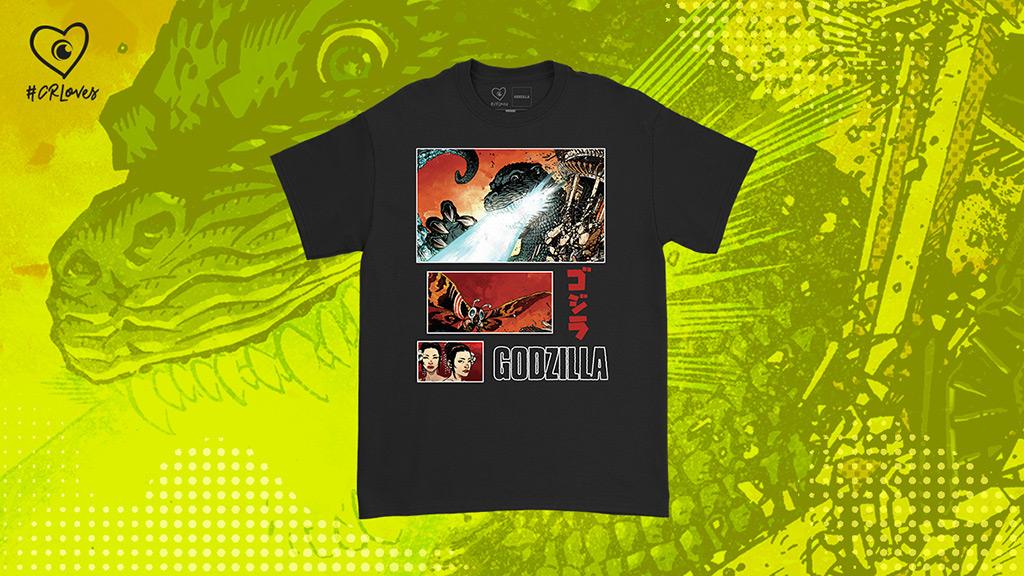 Godzilla vs. MothraComic Cover Short Sleeve T