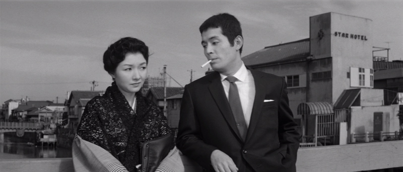 Hideko Takamine and Tatsuya Nakadai