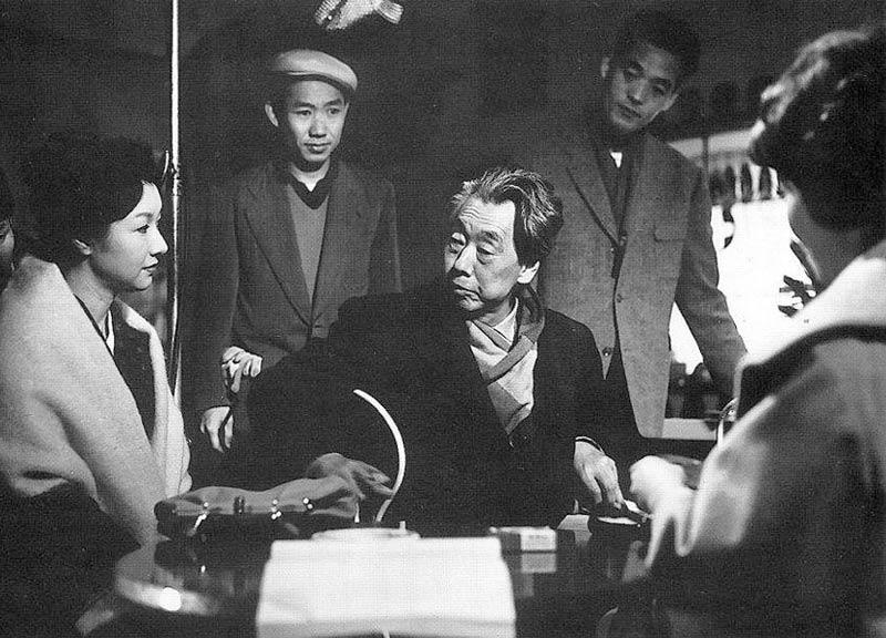 Hideko Takamine and Mikio Naruse