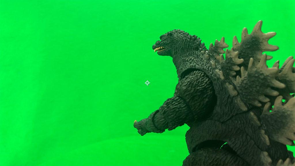 Green Screen Godzilla