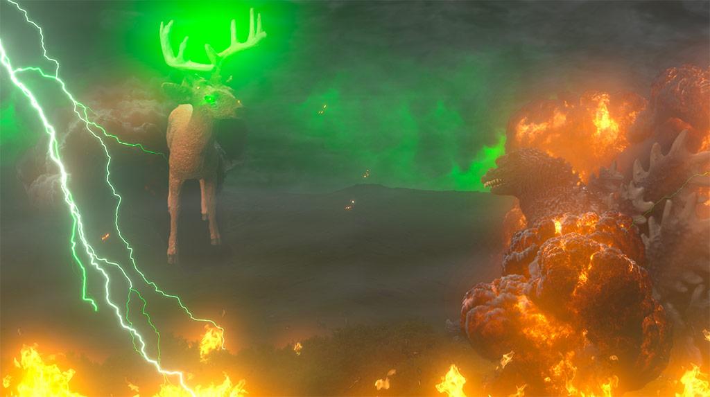 Lightning: Godzilla vs. Bambi