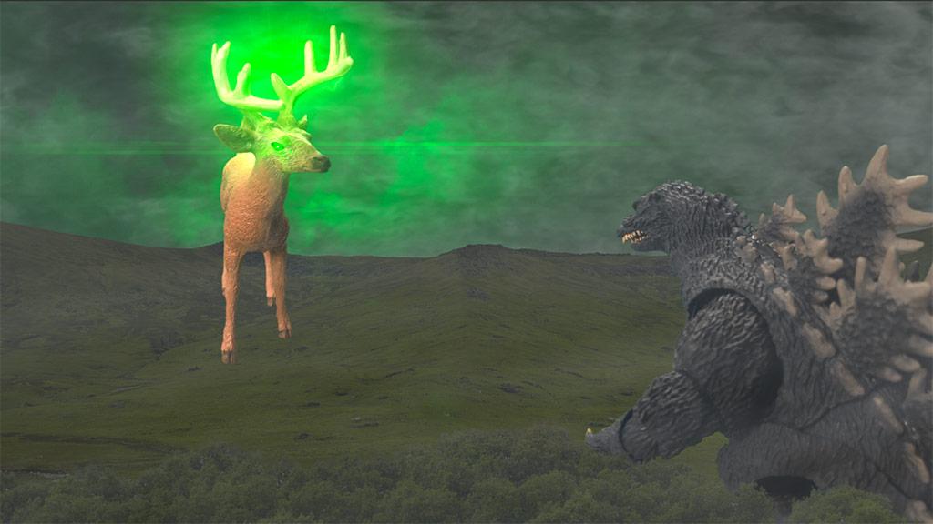 Godzilla vs. Bambi