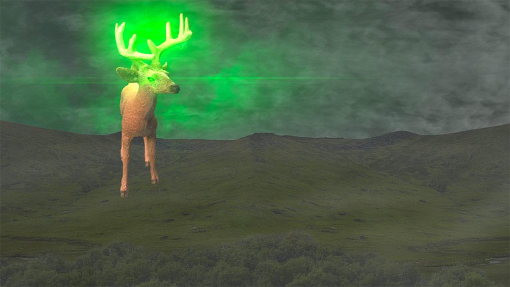 Glowing Bambi