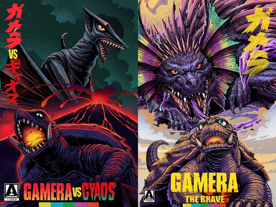 Gamera vs. Gyoas and Gamera the Brave