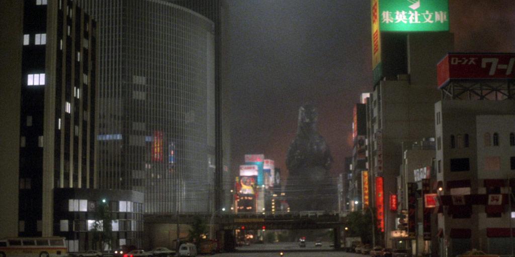 Godzilla Marching in Tokyo