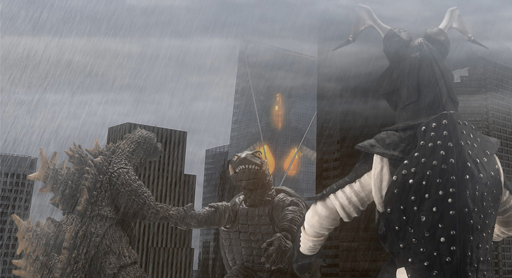 Godzilla, Zetton and Gamera: Giant Monster Brawl