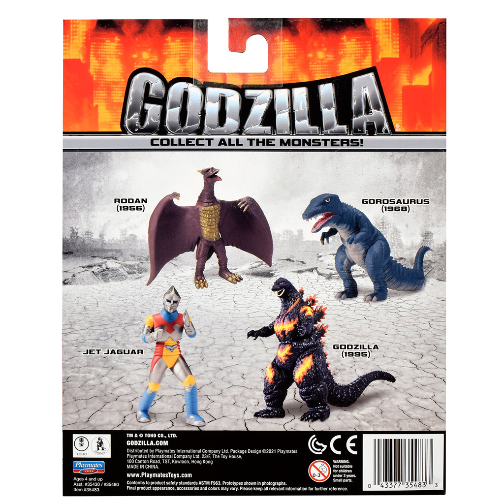 Godzilla Classic Titans
