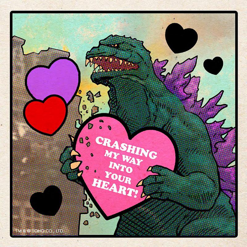 Godzilla Card