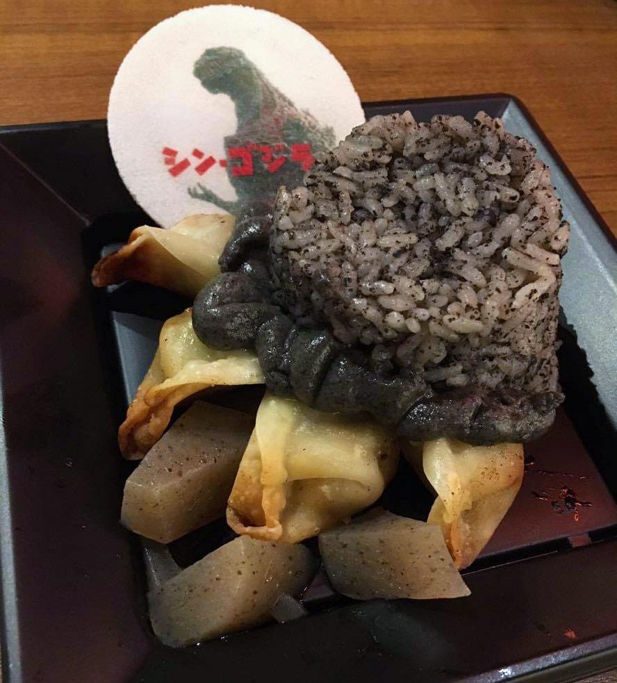 Godzilla Foot Food