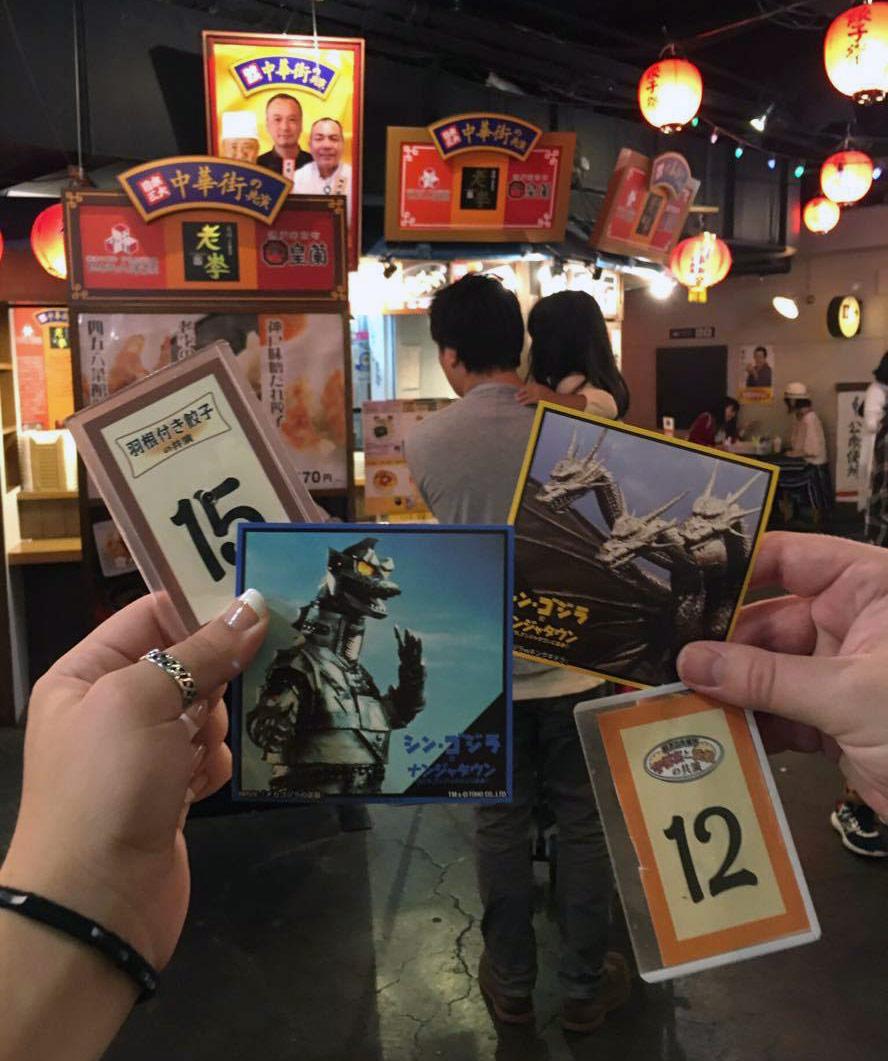 Stickers from NamjaTown vs. Shin Godzilla