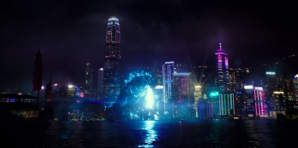 """GODZILLA in Warner Bros. Pictures' and Legendary Pictures' action adventure """"GODZILLA VS. KONG,"""" a Warner Bros. Pictures and Legendary release."""