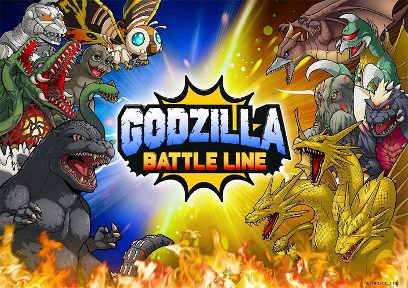 Godzilla Battle Line