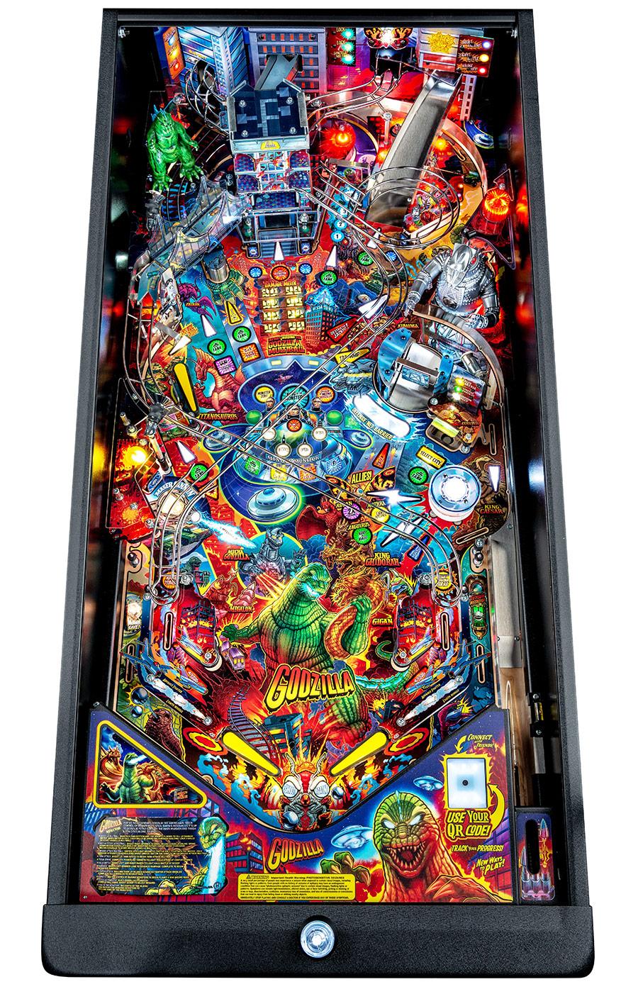 Godzilla Stern Pinball Machine