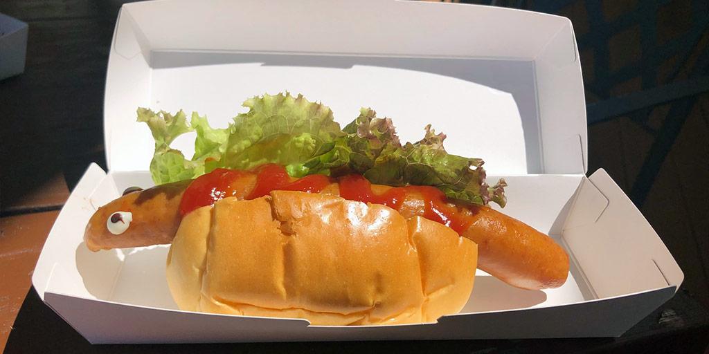Godzilla Form 2 Hot Dog