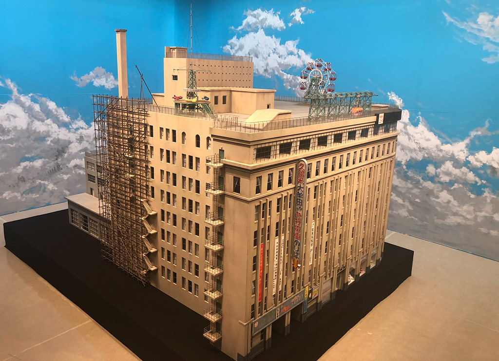 Iwataya building model replica
