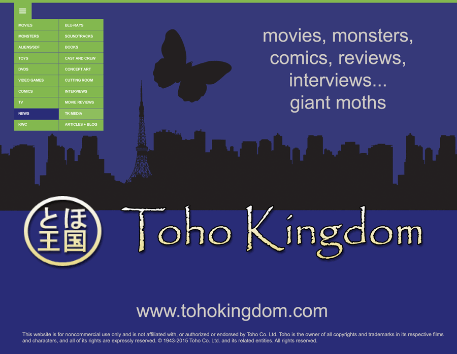 Redesigning Toho Kingdom Unused Promo